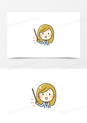 老师卡通图片