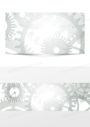 科技机械齿轮背景