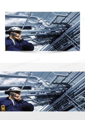 工业机械商务科技背景