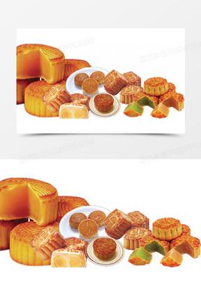 中秋海报月饼 中秋节  中秋素材  中秋背景 中秋展板