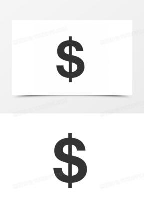 USD美元货币符号图标