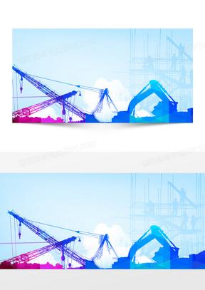 安全教育安全知识蓝色建筑海报
