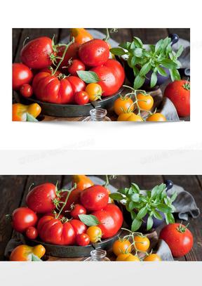 西红柿背景