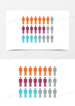 人数分析图