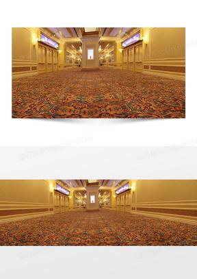 欧美风格地毯背景
