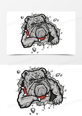 卡通图案 卡通动物图案 卡通狗