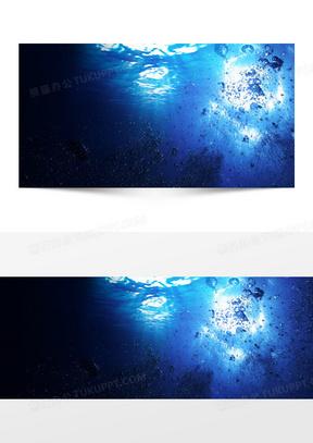 深海海底世界海报