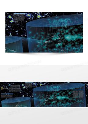 未来科技 欧美风格 梦幻 星空 宇宙