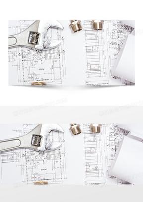 建筑图纸背景