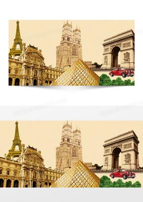 欧美风格建筑