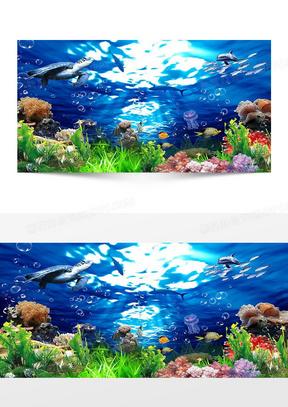 海底世界背景图