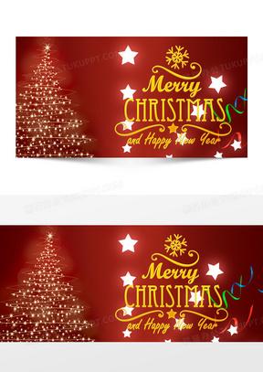星星圣诞节背景
