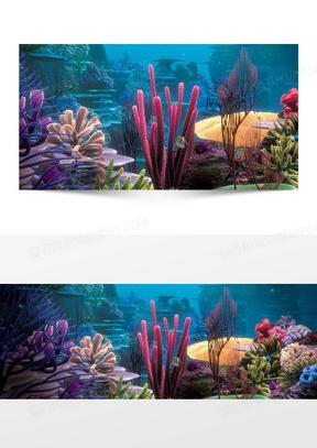 深海世界海底世界海拔