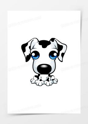 卡通卡通图案 卡通可爱小狗