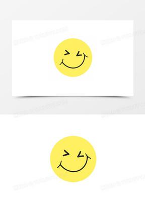 卡通图片可爱卡通图标 卡通笑脸