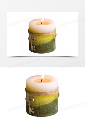 复古钥匙工艺香薰蜡烛