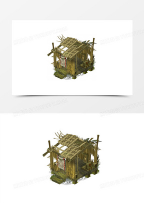 乞丐房子建筑