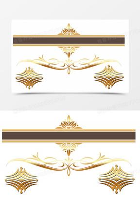 欧式皇家标题框装饰