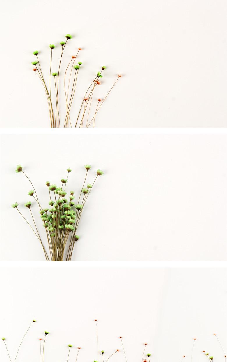 简约花束碎花背景图片ppt模板下载_jpg格式_简约熊猫办公