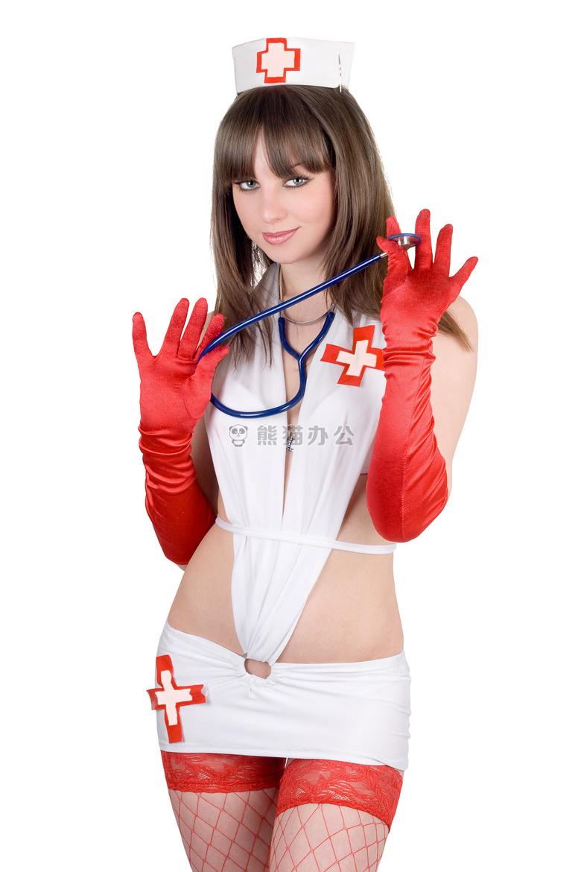 穿丝袜的性感护士图片