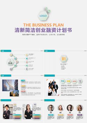 商业融资公司介绍商业计划书PPT模板