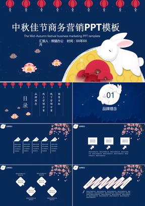 中秋佳节商务营销方案PPT模板