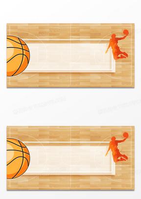 大学社团招新篮球场篮球社纳新背景