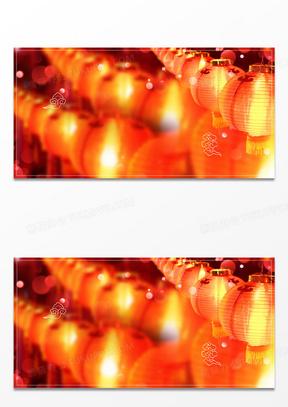 创意灯笼摄影图合成背景