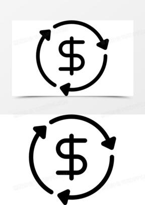 货币流通图标