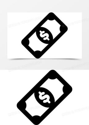 美元货币图标