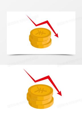 商务金融货币箭头免抠图标元素