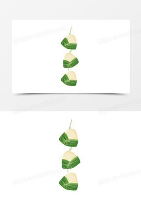 手绘粽子免抠元素