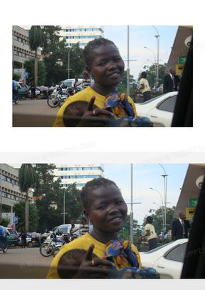 非洲 乞丐 坎帕拉