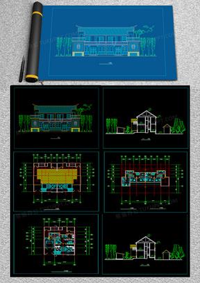 新农村住宅设计方案cad图纸