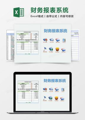 企业财务报表系统