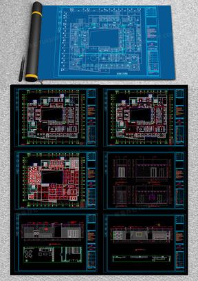 某时尚KTV设计CAD施工图纸