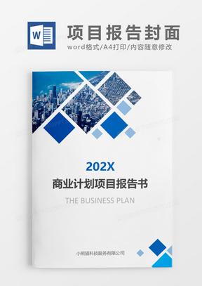 蓝色商业计划项目报告书文档封面国产成人夜色高潮福利影视