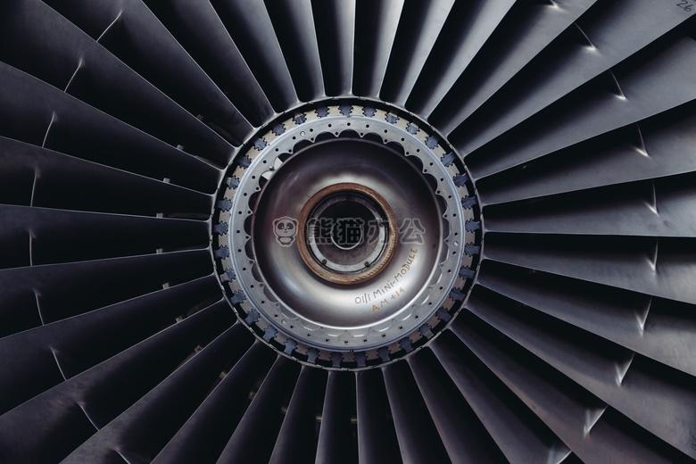 飞机 发动机 喷气式飞机