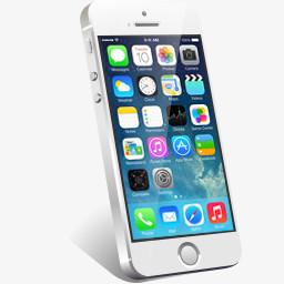 苹果iphone5s手机图标png图片素材免费下载 苹果png 256 256像素 熊猫办公