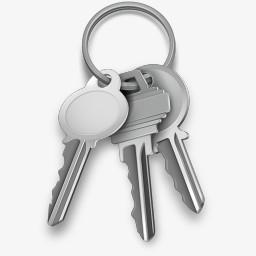 钥匙链mac Icon Setpng图片素材免费下载 钥匙png 256 256像素 熊猫办公