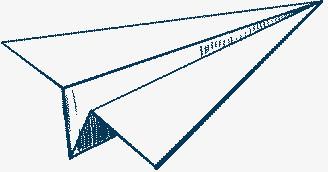 飞机纸飞机线条飞机
