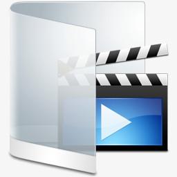 白视频文件夹图标png图片素材免费下载 图标png 256 256像素 熊猫办公