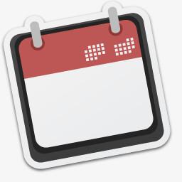 空白日历图标png图片素材免费下载 空白png 256 256像素 熊猫办公