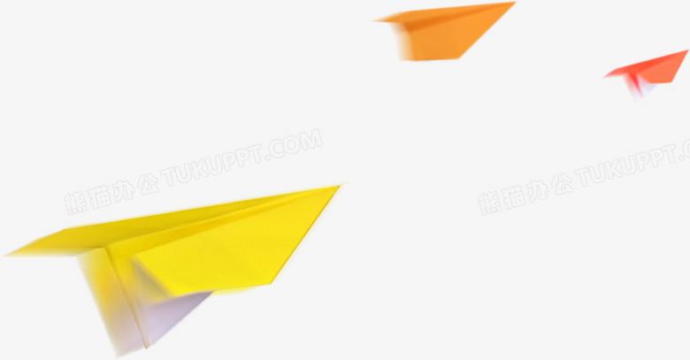 飞机  模糊  纸飞机 彩色