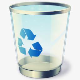 垃圾箱png图片素材免费下载 垃圾箱png 256 256像素 熊猫办公