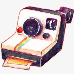 相机polariod图标png图片素材免费下载 图标png 256 256像素 熊猫办公