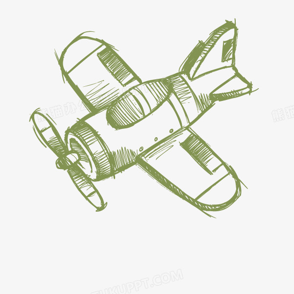 飞机  歼击机 卡通飞机