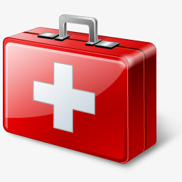 红色医药箱png图片素材免费下载 红色png 256 256像素 熊猫办公