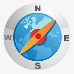 指南针png图片素材免费下载 指南针png 256 256像素 熊猫办公