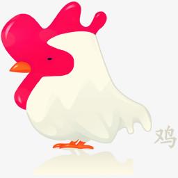 鸡png图片素材免费下载 Png格式 256 256像素 熊猫办公